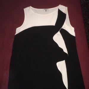 DKNYC Sleeveless Shift Dress